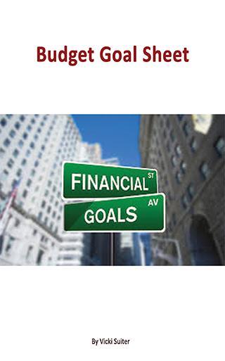 Budget Goal Sheet