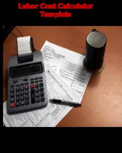 Labor Cost Calculator Template