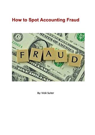spot fraud