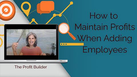 how to maintain profits when adding employees YouTube thumbnail